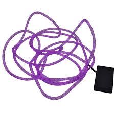 purple mesh rope light 15 foot