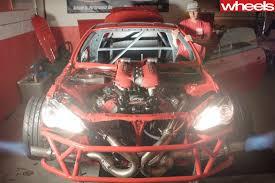 Ferrari 458 V8 - toyota 86 receives ferrari 458 v8 engine swap wheels