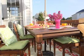 Pottery Barn Patio Table Outdoor Pottery Barn Outdoor Dining Home Design Ideas And