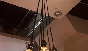 chandelier edison bulb chandelier fabulous edison bulb