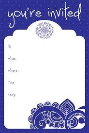 7 wonderful blank invitation templates srilaktv