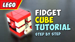 how to build a lego fidget cube diy youtube