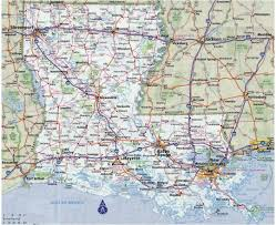 Map Of The Usa With Cities by Maps Of Louisiana State Collection Of Detailed Maps Of Louisiana