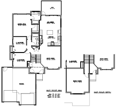 100 split level homes floor plans raised homes floor plans