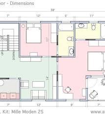 House Floor Plan Measurements House Floor Plans With Dimensions Single Floor House Plans Floor