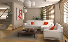 Bright Orange Paint by Orange Paint Wall Japanese Living Rooms Bright Lighting Above