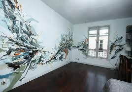 fresque murale chambre fresque murale dans un appartement