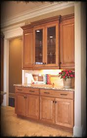 Maple Doors Interior Maple Cabinets With Glass Doors Display Wine Glasses And