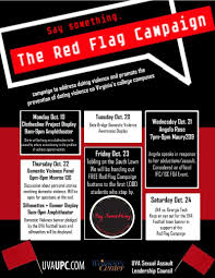 Red Flags When Dating The Red Flag Campaign Engaging Community