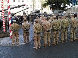 quotes for soldiers during christmas us troops cheered as they enter poland u2013 but russia decries threat