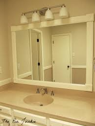 Wood Framed Bathroom Mirrors by Bathroom Cabinets Luxury Wood Framed Bathroom Mirrors Oak How To