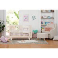 Hudson 3 In 1 Convertible Crib With Toddler Rail Babyletto Crib Ebay