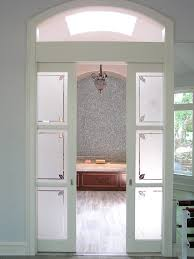 Bathroom Pocket Doors Bathroom Design Wooden Pocket Doors With Textured Frosted Glass