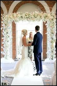 wedding arch used wedding arch flowers cost curvy ladder garden gate way is