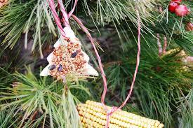 workshop ornaments to feed the wildlife ashtabula county