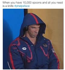 Angry Face Memes - phelpsface angry michael phelps know your meme