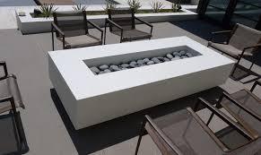 Concrete Firepit Concrete Pete White Concrete Firepit