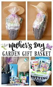 Mothers Day Baskets Mother U0027s Day Garden Gift Basket Budget Friendly Idea