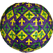 mardi gras paper lanterns mardi gras paper 10in 3pc pk gulf coast