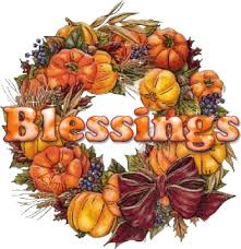 thanksgiving blessings wreath animated gif 9010 animate it