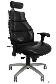 desk chair with headrest the office leader rfm verte 2200 high back executive office chair