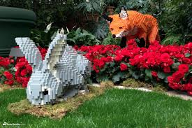 Botanic Gardens by See 27 Giant Lego Statues On Display In A Botanic Garden Starting