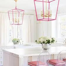 pink kitchen ideas pink kitchen island lanterns design ideas