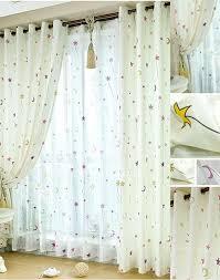 patterns printed style kids favorite bedroom sidelight window curtains