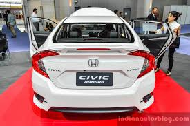 honda civic philippines 2016 honda civic modulo rear at 2016 bims indian autos blog