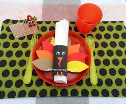 thanksgiving no sew place mats turkeytablescapes while he was