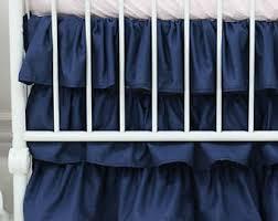 aqua gradient ombre ruffle crib skirt ruffled teal aqua