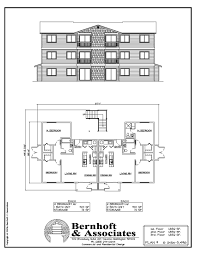 12 Bedroom House Plans by 12 Unit Apartment Building Plans Type Building Plan Units Floor
