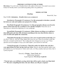 Proper Closing For Business Letter by Friendly Letter Format How To Write A Friendly Letter Samples