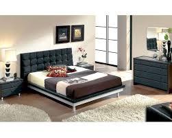 Black And Wood Bedroom Furniture Black Modern Bedroom Furniture Vivo Furniture