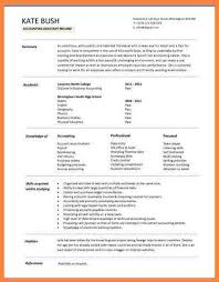 7 curriculum vitae sample for fresh accounting graduate
