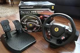 458 italia wheel for xbox 360 thrustmaster 458 italia edition racing wheel pedals