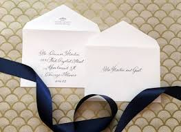 how to address wedding invitations without inner envelope