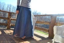 long denim skirt fresh modesty