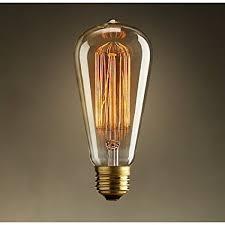 what is an incandescent light bulb vintage edison 40w 110v e26 base squirrel cage filament incandescent