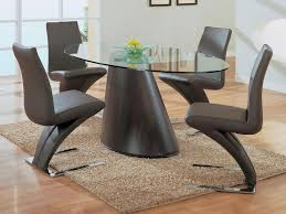 contemporary oval dining table ideas home design by john image of oval glass dining table sets