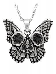 butterfly jewelry necklace images Controse butterfly skull necklace jpg