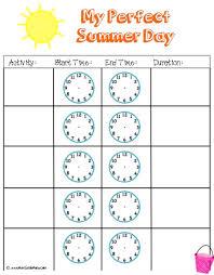 summer math camp week 5 telling time