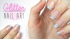 use glitter on your nails perfectly youtube