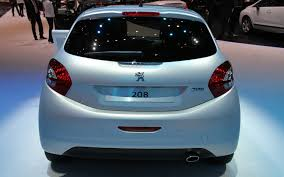 peugeot 208 sedan peugeot 208 gti and xy concepts 2012 geneva auto show motor trend