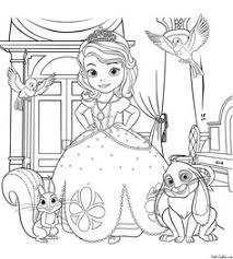 sofia the first coloring pages printable tagged with princess