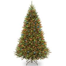 national tree company powerconnect kingswood 7 5 foot fir tree with