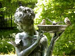 best 25 garden statues ideas on garden fountains