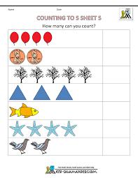 counting preschool worksheets worksheets