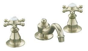 Kohler Widespread Bathroom Faucet by Bathroom Kohler Purist Wall Mount Widespread Bathroom Faucet