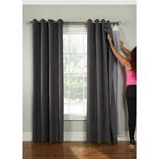 Blackout Curtains Liner Universal Blackout Curtain Liner Ultimate Liner 45x77 Walmart